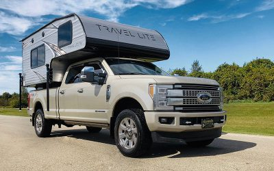 Travel Lite RV: King of half-ton compatible Truck Campers