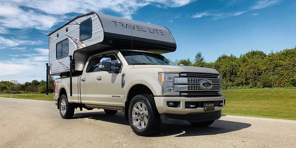 Half Ton Truck >> Travel Lite Rv King Of Half Ton Compatible Truck Campers