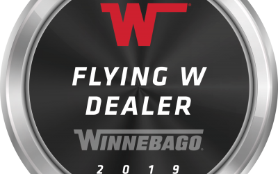 Juniata Valley RV Awarded Flying W Award from Winnebago