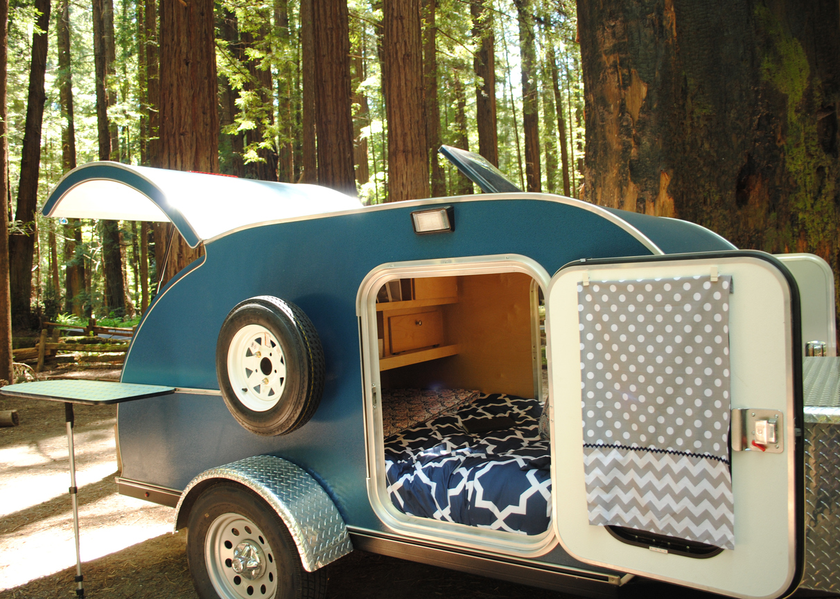Organizing Tips for Small Trailer Camping