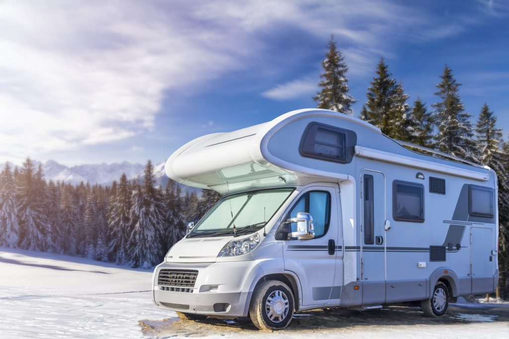Class C motorhomes - Holidays in Poland - winter with camper in the Tatra Mountains